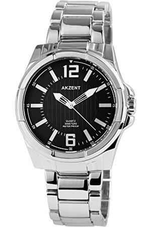 Akzent Męski analogowy zegarek kwarcowy bez paska SS882100016