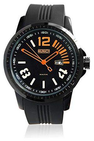 Munich Unisex dla dorosłych analogowy zegarek kwarcowy z silikonowym paskiem MU+103,5A