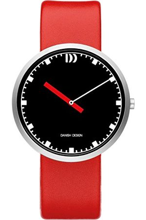 Danish Design Męski analogowy zegarek kwarcowy ze skórzanym paskiem IQ24Q1212