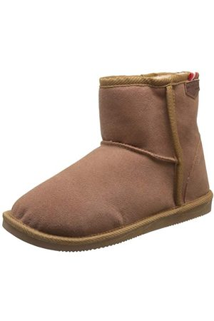 Les Tropéziennes par M Belarbi Damskie zimowe buty śniegowe, czarne, - Camel 193-36 EU