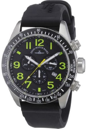 Zeno Męski zegarek kwarcowy Quarz 6497-5030Q-s18 z gumowym paskiem