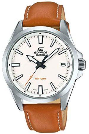 Casio Męski analogowy kwarcowy zegarek na rękę Edifice EFV-100 bransoletka Rozmiar uniwersalny /