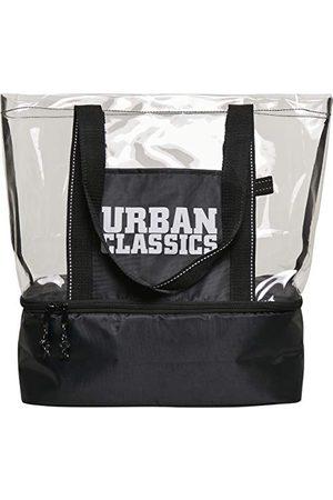 Urban classics Unisex Cooling torba plażowa, czarna/przezroczysta, jeden rozmiar