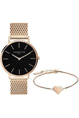 liebeskind Zestaw składający się z zegarka na rękę i bransoletki LS-0090-MQB