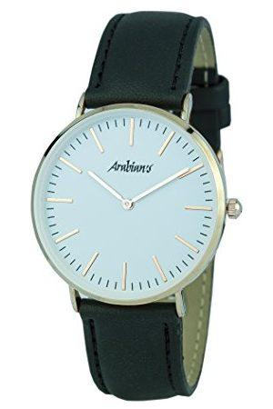 ARABIANS Męski analogowy zegarek kwarcowy ze skórzanym paskiem HPA229N