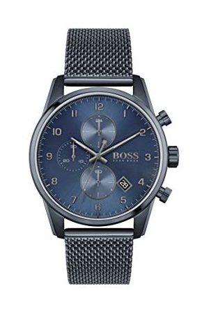 HUGO BOSS Męski analogowy zegarek kwarcowy z bransoletką ze stali szlachetnej 1513836