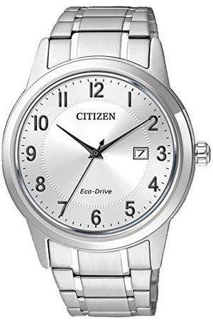 Citizen AW1231-58B męski analogowy kwarcowy zegarek z bransoletką ze stali nierdzewnej