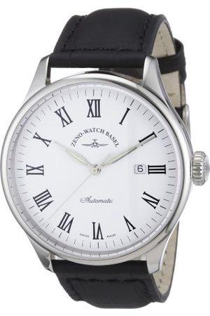 Zeno Męski zegarek na rękę XL retro Tre analogowy automatyczny skóra 6273-i2-roem