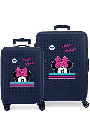 Disney Zestaw walizek 55-68 cm Sweet Dreams Minnie