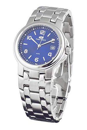 Time Force Unisex Dorośli analogowy zegarek kwarcowy z bransoletką ze stali szlachetnej TF2265M-03M