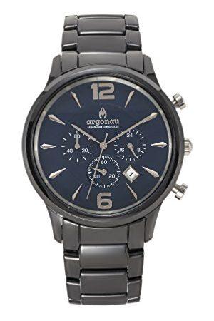ARGONAU Unisex Dorośli Analogowy zegarek kwarcowy z ceramiczną bransoletką AU1001
