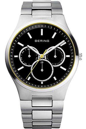 Bering Męski zegarek na rękę analogowy kwarcowy stal szlachetna 13841-702