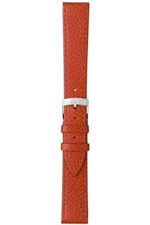 Morellato Bransoletka skórzana do zegarka męskiego DUBLINO brązowa 18 mm A01D075333037CR12