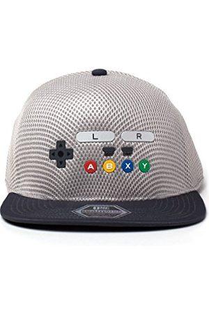 Nintendo Oryginalny kontroler SNES bezszwowy płaski kapelusz bejsbolowy, , jeden rozmiar
