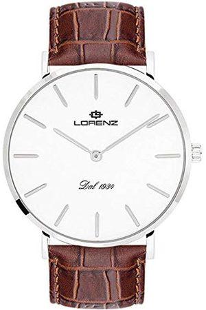 Stadlbauer Lorenz męski analogowy zegarek kwarcowy ze skórzanym paskiem 030083AA