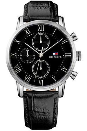 Tommy Hilfiger 1791401 męski zegarek kwarcowy z skórzanym paskiem