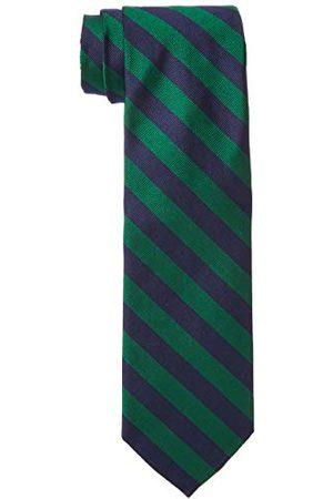 Brooks Brothers Męski 100156671 krawat, (Green 300), One Size (rozmiar producenta: OS -)