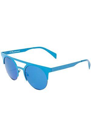 Italia Independent Unisex 0026-027-000 okulary przeciwsłoneczne, niebieskie (Azul), 49