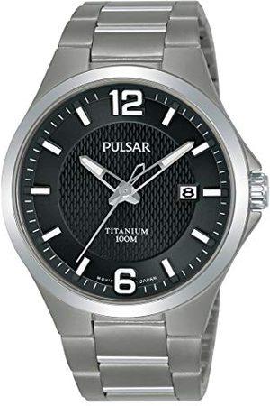 Pulsar PS9613X1 zegarek męski tytanowy z metalowym paskiem