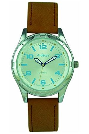 ARABIANS Męski analogowy zegarek kwarcowy ze skórzanym paskiem DBP221W