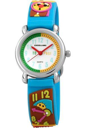 Excellanc Unisex Zegarek na rękę Analogowy Kwarc Kauczuk 407023500063