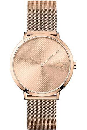 Lacoste Unisex-dorosły analogowy klasyczny zegarek kwarcowy z paskiem ze stali nierdzewnej 2001028