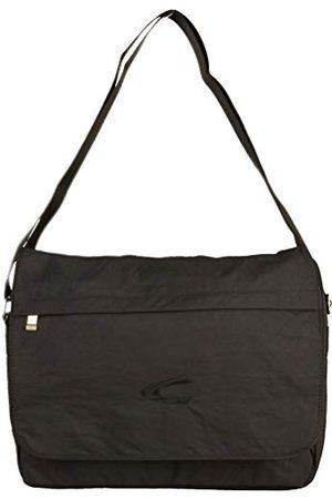 Camel Active Messenger Bag B00 Journey torba na ramię, 39 cm, czarna