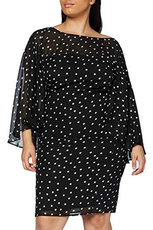 Gina Bacconi Elegancka damska sukienka szyfonowa Kairi
