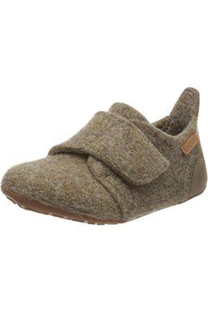 Bisgaard Unisex Wool niskie kapcie domowe, brązowe (Camel 46), 36 EU