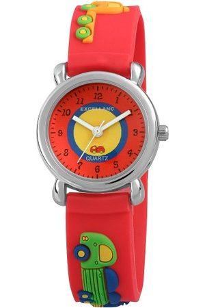 Excellanc Unisex zegarek na rękę analogowy kwarcowy kauczuk 40702500036