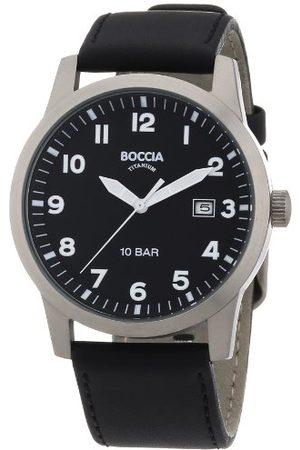 Boccia Męski zegarek na rękę skórzany 3631-01