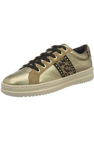 Geox Damskie buty typu sneaker D Pontoise G, Platinum Dk Brown - 39 eu
