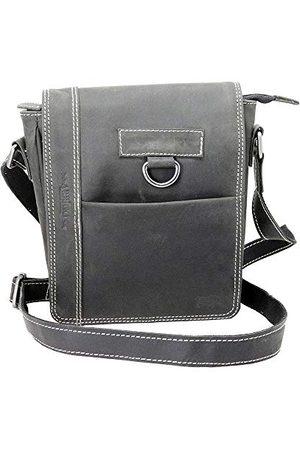 Arrigo Unisex Shoulder Bag torba na ramię, 10 x 19 x 22 cm, - Schwarz (Zwart) - 10x19x22 cm (B x H x T)