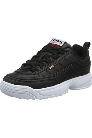 British Knights Damskie buty typu sneaker, - Schwarz Black White Red 02-41 EU