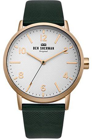 Ben Sherman Męski data klasyczny zegarek kwarcowy z nylonową bransoletką WB070NBR