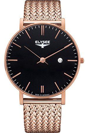 ELYSEE 98005M analogowy zegarek kwarcowy z bransoletką ze stali nierdzewnej dla dorosłych, uniseks