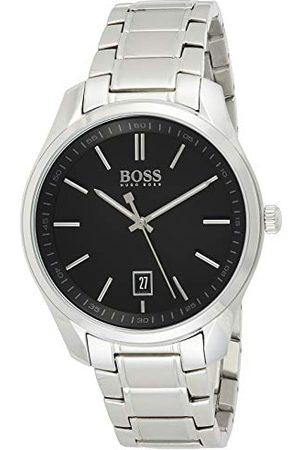 HUGO BOSS Męski analogowy zegarek kwarcowy z paskiem ze stali nierdzewnej 1513730