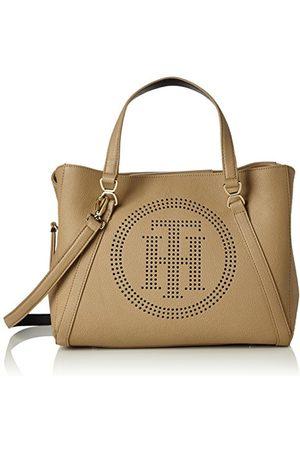 Tommy Hilfiger Damska torba bramnistrowa Fashion Novelty Perf 15x36x33 cm, wielokolorowa - Piaskowy - 15x36x33 cm (B x H x T)