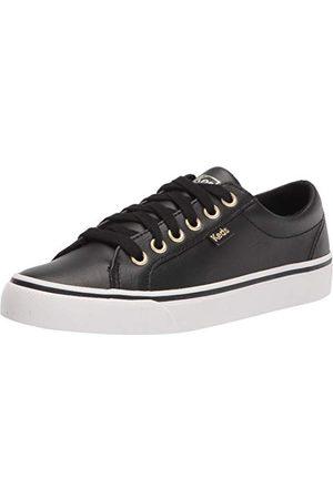 Keds Damskie buty sportowe Jump Kick Leather, Czarne złoto - 35 EU