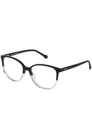 Loewe Unisex VLWA17M530Z50 oprawka okularów, czarna (Black + Crystal), 55