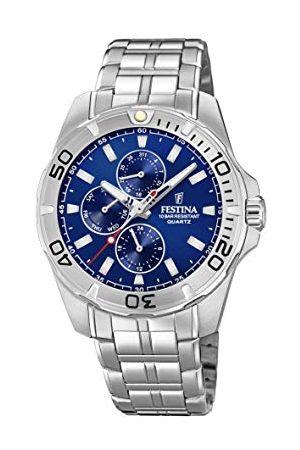 Festina F20445/2 męski zegarek kwarcowy z bransoletką ze stali nierdzewnej
