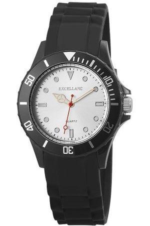 Excellanc Unisex analogowy zegarek kwarcowy z kauczukowym paskiem 22492250001
