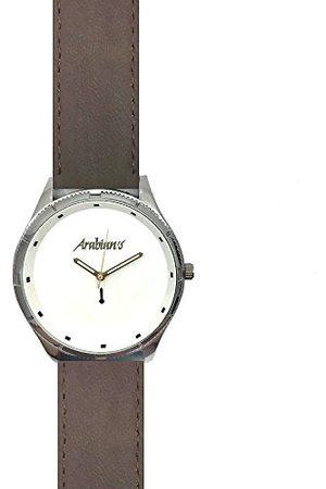 ARABIANS Męski analogowy zegarek kwarcowy ze skórzanym paskiem HBP2210E