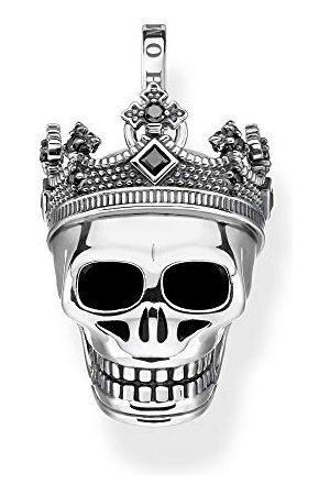 Thomas Sabo Unisex wisiorek trupia czaszka korona 925 srebro szterlingowe PE871-643-11