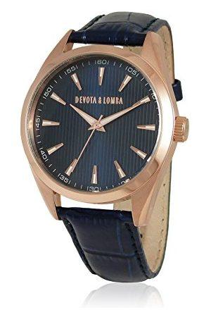 Devota & Lomba Zegarek z japońskim mechanizmem zegarowym 49 mm