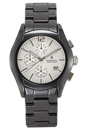 ARGONAU Unisex Dorośli Analogowy zegarek kwarcowy z ceramiczną bransoletką AU1100