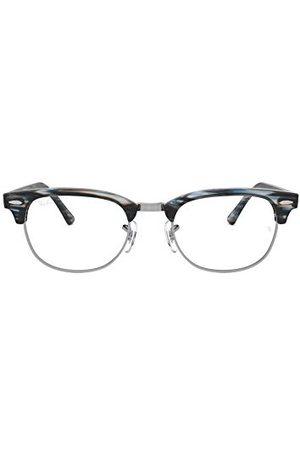 Ray-Ban Unisex dla dorosłych 0RX 5154 5750 51 oprawki okularów, (Blue/Grey Spped)