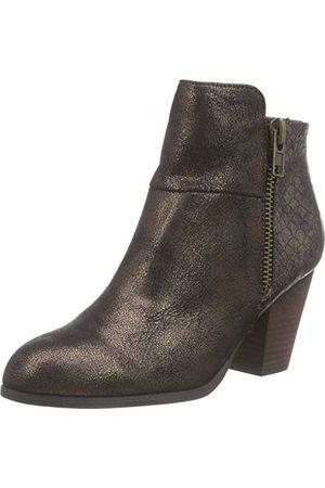 La Strada Brązowe kolorowe damskie buty z krótką cholewką, - Braun 1941 Pu Bronze - 36 EU
