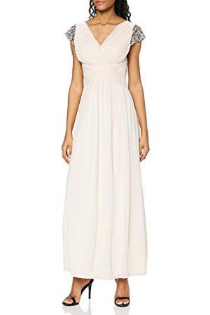 Little Mistress Damska sukienka koktajlowa z dekoltem w kształcie litery V, z odsłoniętymi ramionami, z odsłoniętymi ramionami.