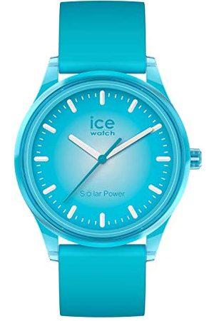 Ice-Watch ICE solar power Blue planet - zegarek męski/unisex z silikonowym paskiem - 017769 (Medium)